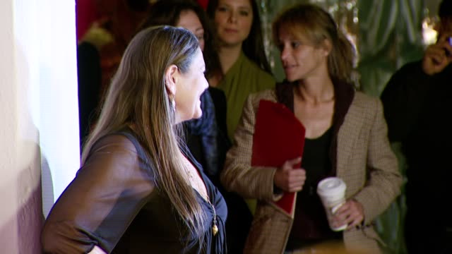 camryn manheim at the 'the business of being born' premiere at the fine arts theatre in los angeles, california on january 14, 2008. - camryn manheim stock videos & royalty-free footage