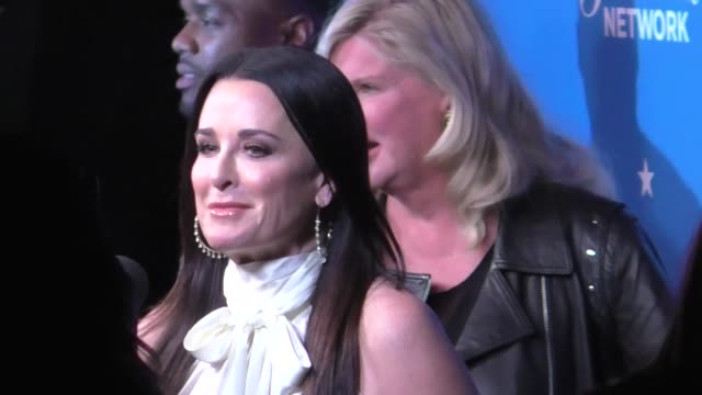 Camryn Manheim Kyle Richards attend the Paramount Network launch party at Sunset Tower in West Hollywood in Celebrity Sightings in Los Angeles
