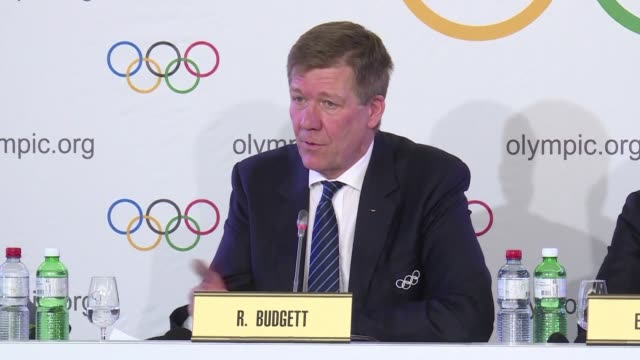 i can tell you that you will see the figures and the figures are on the website the russian athletes have been tested more than any other country by... - südkorea stock-videos und b-roll-filmmaterial