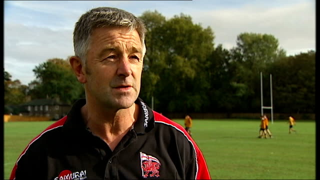 can the sport capitalise on world cup popularity; mark walbyoff interview sot - talks of england team being good role models - head teacher stock videos & royalty-free footage