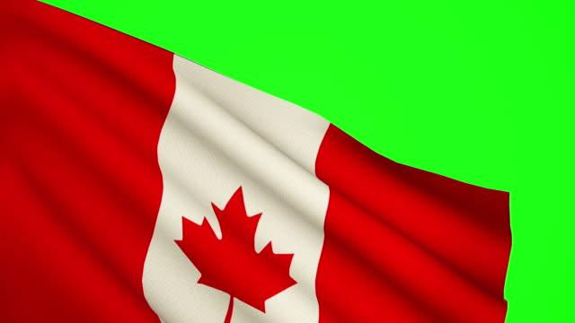 Canada flag Luma matte