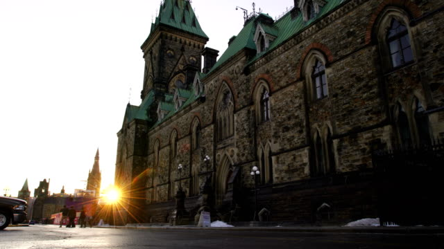 canada parliament building in ottawa - canada stock videos & royalty-free footage