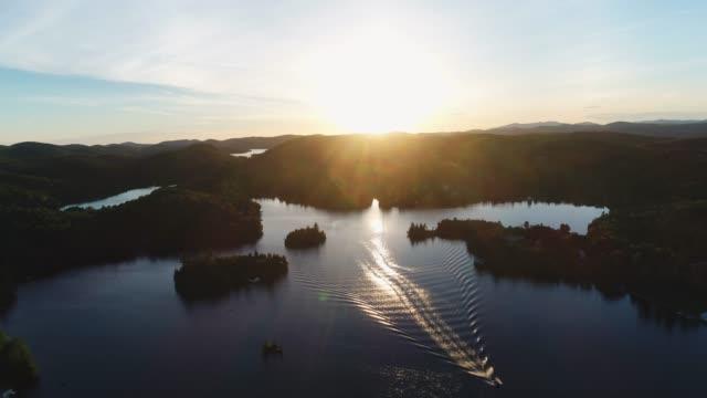 canada - 湖点の映像素材/bロール