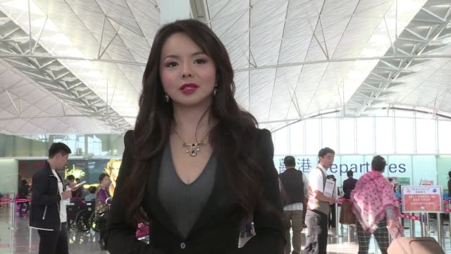 canadas chinese born miss world contender is stuck in hong kong after being banned from taking a flight bound for mainland china where the beauty... - beauty queen stock videos and b-roll footage