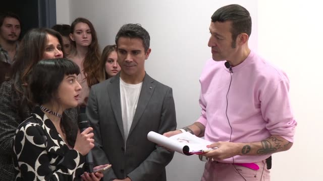 canadian american industrial designer karim rashid was recently in rome to judge the art of students at the university of fine arts - industrial designer stock videos & royalty-free footage