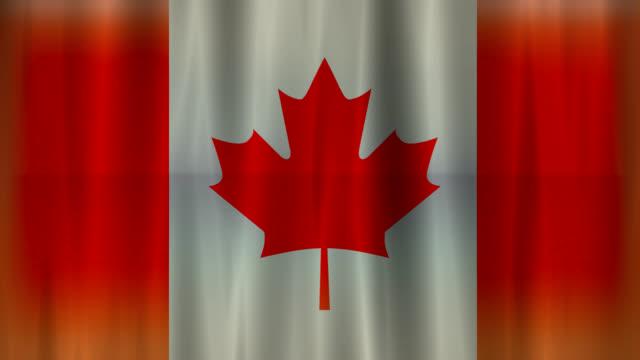 Canadian flag background