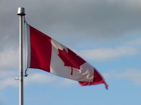 Canadian Flag (close-up)