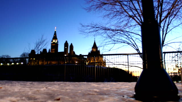 canadian parliament - parliament hill stock videos and b-roll footage