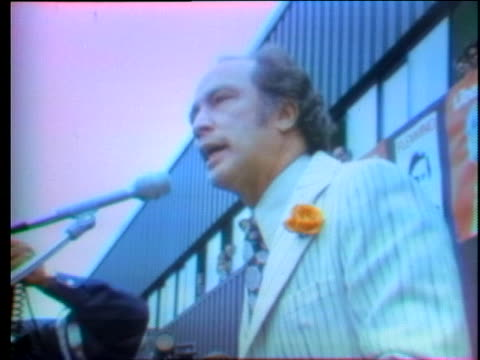 canadian prime minister pierre trudeau campaigns for re-election in canada. - (war or terrorism or election or government or illness or news event or speech or politics or politician or conflict or military or extreme weather or business or economy) and not usa stock videos & royalty-free footage