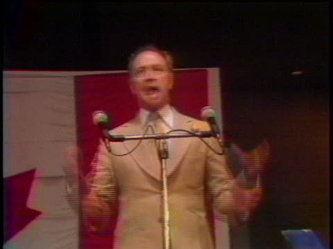 canadian prime minister pierre trudeau campaigns for re-election in 1979. - (war or terrorism or election or government or illness or news event or speech or politics or politician or conflict or military or extreme weather or business or economy) and not usa stock videos & royalty-free footage