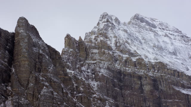 canadian rockies in alberta - valley of the ten peaks stock videos and b-roll footage