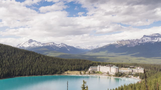 canadian rockies: lake louise - banff national park stock videos & royalty-free footage