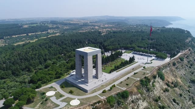 canakkale the martyrs memorial - anzac day stock videos & royalty-free footage