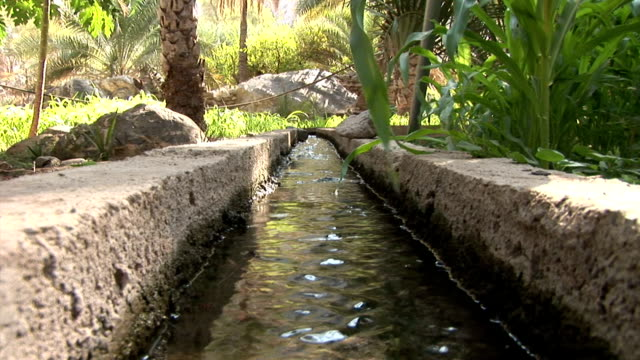 LS canal for irrigation in Muscat, Oman