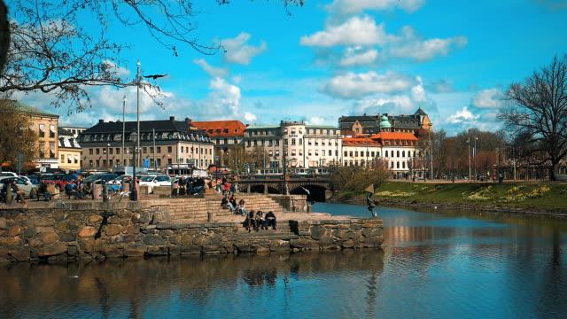 Canal in Gothenburg City