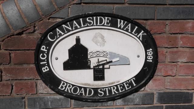 Canal Side Walk - Broad Street, Birmingham, West Midlands, England, United Kingdom, Europe