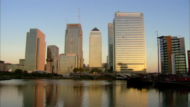 MS Canary Wharf, London, England