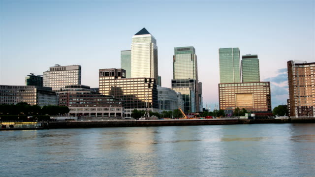 Canary Wharf Time Lapse