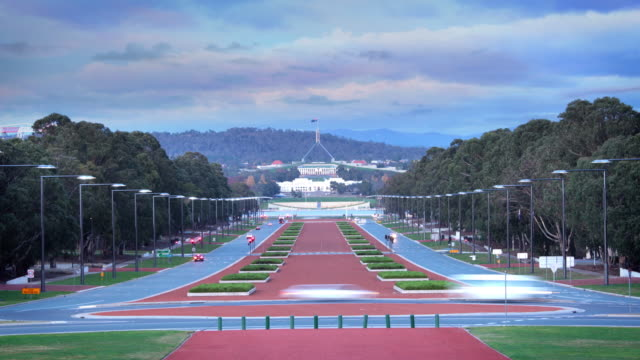 canberra, australia - politica video stock e b–roll