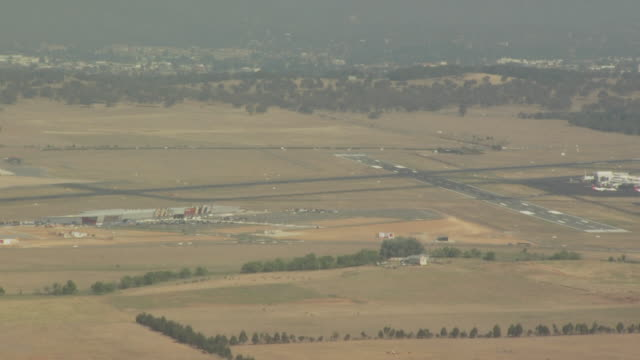 canberra international airport, australian capital territory, australia - canberra stock videos & royalty-free footage