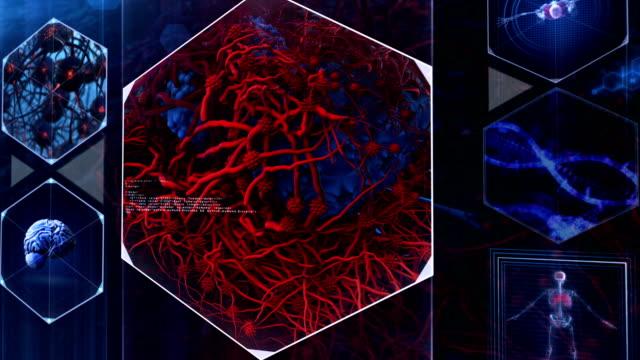 癌細胞 - がん細胞点の映像素材/bロール
