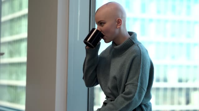cancer patient contemplative - chronic illness stock videos and b-roll footage