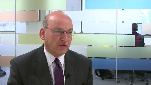 uk cancer survival rates come under fire from health watchdog professor mark baker interview sot - richard pallot stock-videos und b-roll-filmmaterial
