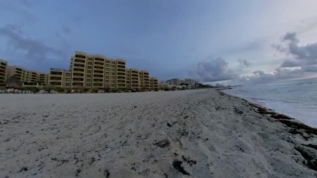 Cancun beach time lapse