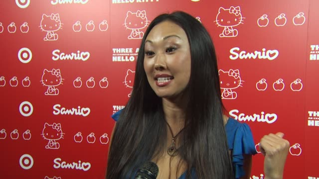 candace kita on when she first discovered hello kitty and her fondest memory why she loves hello kitty why she wanted to be a part of the night at... - hello kitty stock videos and b-roll footage