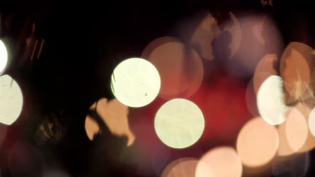 Candel bokeh background