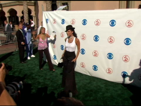 candela ferro at the 2004 latin grammy awards arrivals at the shrine auditorium in los angeles, california on september 1, 2004. - latin grammy awards stock videos & royalty-free footage