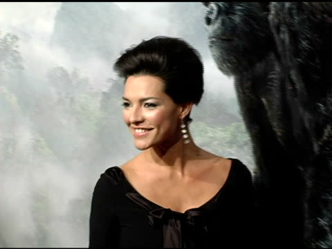 Candela Ferro at the 'King Kong' New York Premiere at Loews EWalk and AMC Empire Cinemas in New York New York on December 5 2005