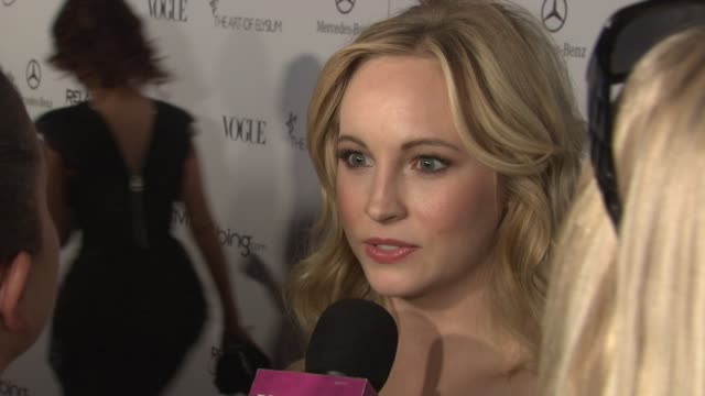 Candice Accola at the Art Of Elysium's 4th Annual 'Heaven' Charity Gala at Los Angeles CA