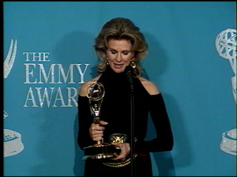 Candice Bergen at the 1992 Emmy Awards at the Pasadena Civic Auditorium in Pasadena California on September 1 1992