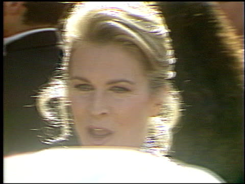 candice bergen at the 1993 emmy awards entrances and press room at the pasadena civic auditorium in pasadena california on september 19 1993 - pasadena civic auditorium stock videos & royalty-free footage