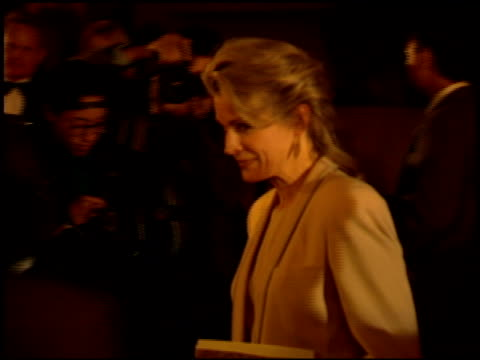 candice bergen at the comedy awards 94 at the shrine auditorium in los angeles california on march 6 1994 - ジャーマンコメディアワード点の映像素材/bロール