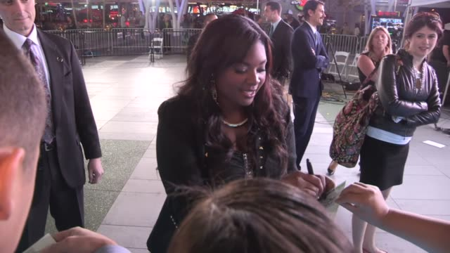 candice glover greets fans after winning american idol in los angeles 05/16/13 - american idol stock videos and b-roll footage