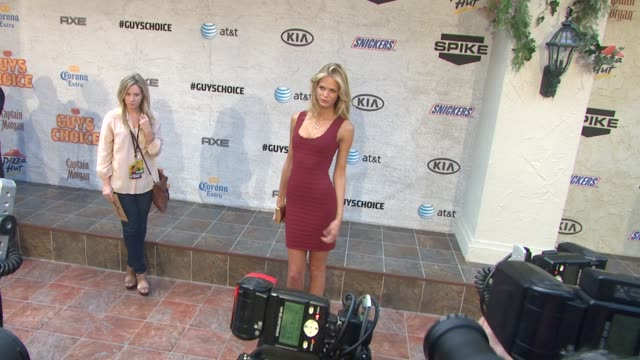 Candice Swanepoel at the 5th Annual Guys Choice Awards at Culver City CA
