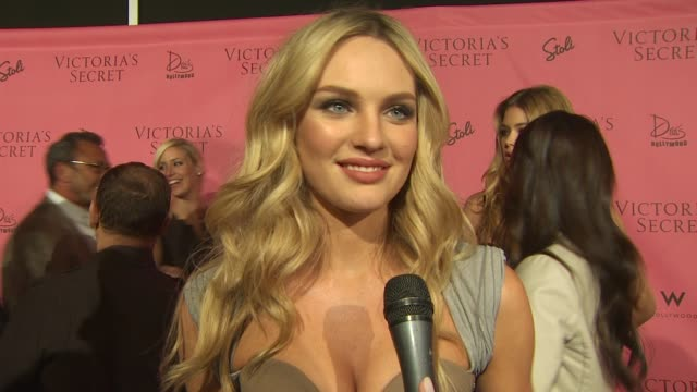 candice swanepoel on her dress, on what she's looking forward to tonight, and on what makes her feel sexy. at the 5th annual 'what is sexy?' list:... - interview stock videos & royalty-free footage