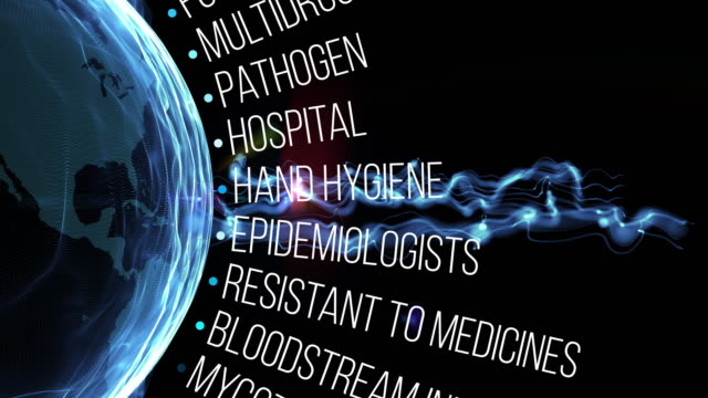 candida auris animation - disease vector stock videos & royalty-free footage