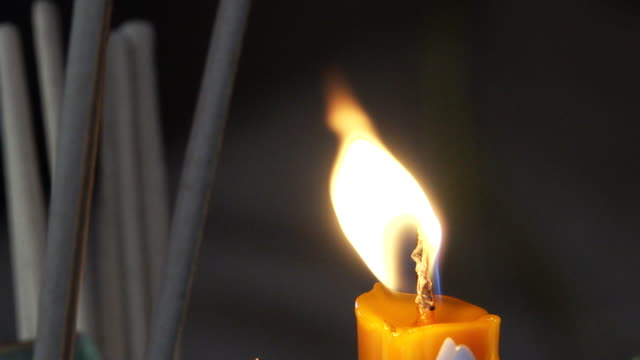 candle burning - mental burnout stock videos & royalty-free footage
