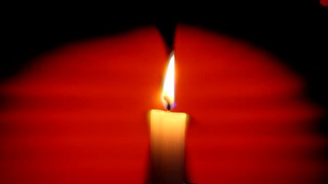 candle flame abstract - votive candle stock videos and b-roll footage