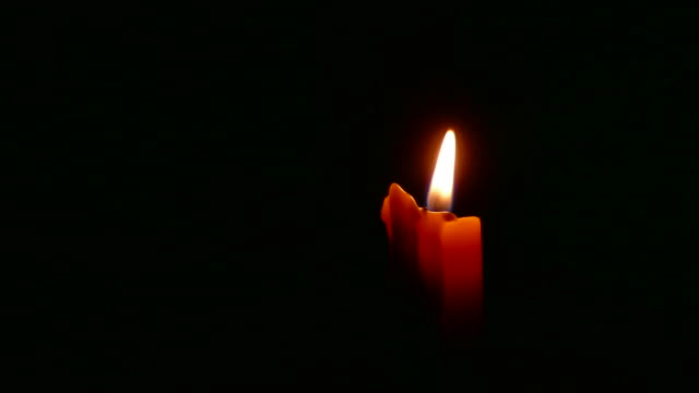 candle in black background - advent stock videos & royalty-free footage
