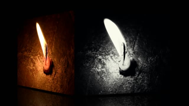 candle light with transition effects without text - candle stock videos and b-roll footage