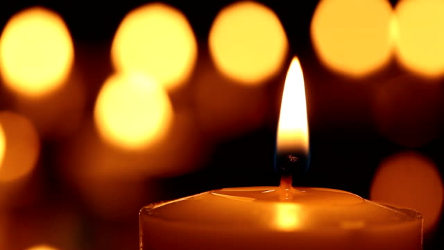 stockvideo's en b-roll-footage met candle - kerk
