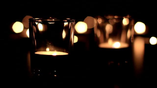 vídeos de stock e filmes b-roll de candle - lightweight