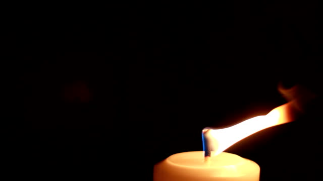 candle with fire - low lighting stock videos & royalty-free footage