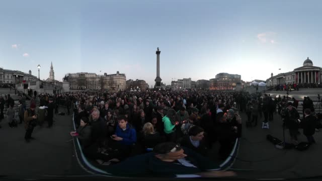 """candlelight vigil in trafalgar square, london to remember those who lost their lives in the westminster terrorist attack."" - westminster bridge stock videos & royalty-free footage"