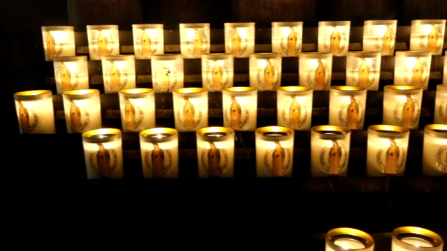 candles at church