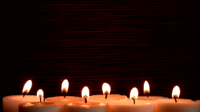 candles background - spirituality stock videos & royalty-free footage